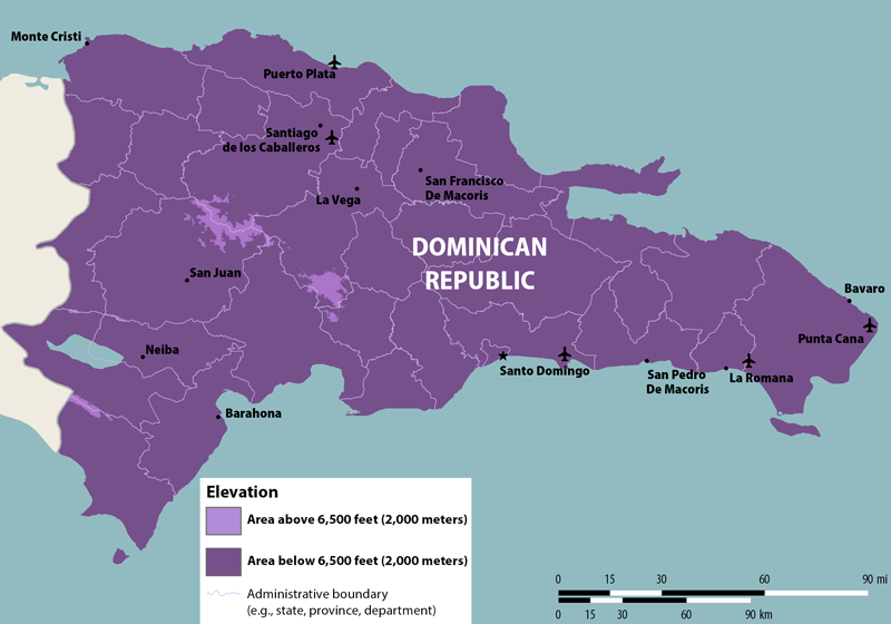 Nathnac dominican republic zika dominicanrepublic map 800 publicscrutiny Images