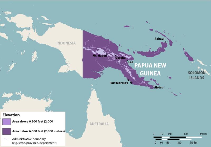 NaTHNaC Papua New Guinea