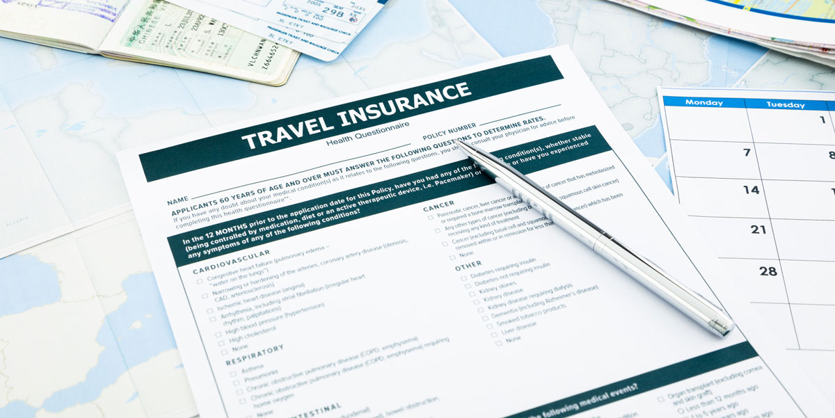 Travel Insurance - Guidance for health professionals